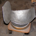 Dishing knee, helm - Step #3
