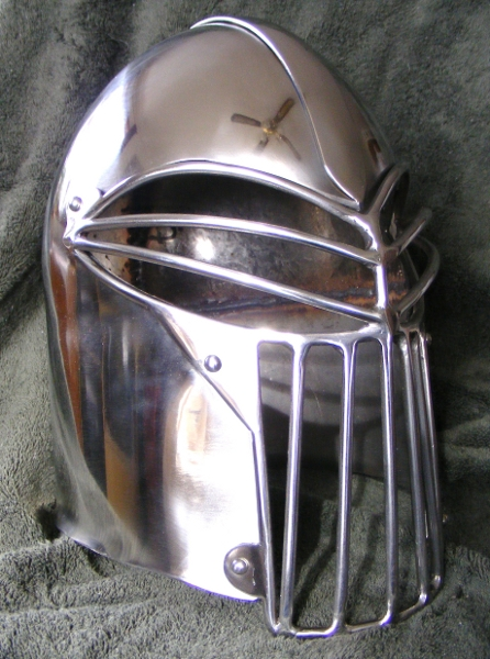T-Slot Barbute – Ironmonger Armory